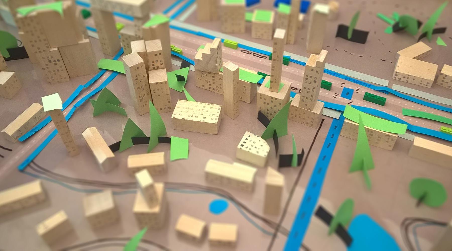 Pelissä yhteinen kaupunki